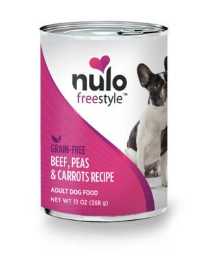 Nulo FreeStyle Beef, Peas & Carrots Recipe (Canned)