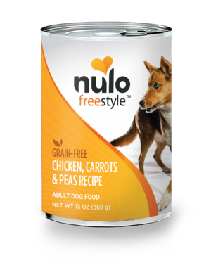 Nulo FreeStyle Chicken, Carrots & Peas Recipe (Canned)