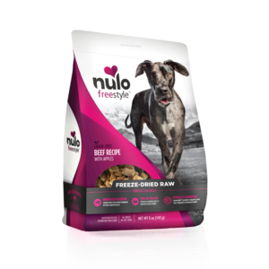 Nulo FreeStyle Freeze-Dried Raw Beef Recipe With Apples