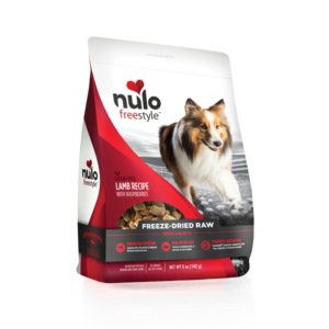 Nulo FreeStyle Freeze-Dried Raw Lamb Recipe With Raspberries