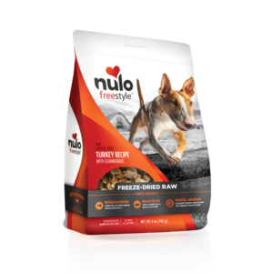 Nulo FreeStyle Freeze-Dried Raw Turkey Recipe With Cranberries