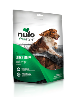 Nulo FreeStyle Jerky Strips Duck Recipe With Plums