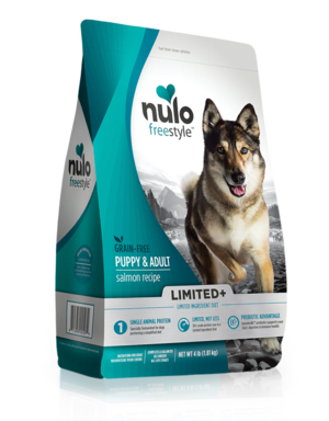 Nulo FreeStyle Limited+ Puppy & Adult Salmon Recipe