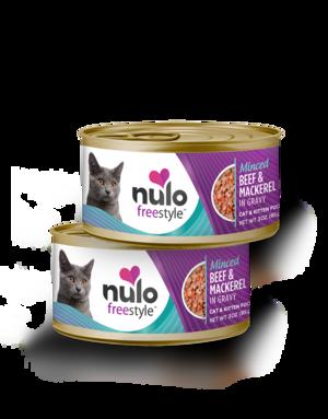 Nulo FreeStyle Minced Beef & Mackerel Recipe In Gravy