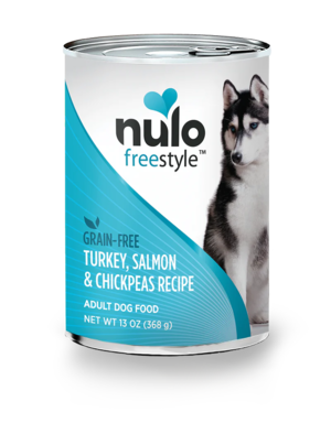 Nulo FreeStyle Turkey, Salmon & Chickpeas Recipe (Canned)