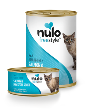 Nulo FreeStyle Salmon & Mackerel Recipe (Canned Cat Food)