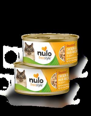 Nulo FreeStyle Shredded Chicken & Duck Recipe In Gravy