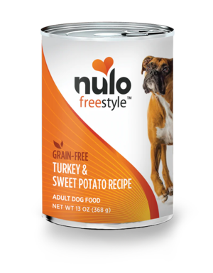 Nulo FreeStyle Turkey & Sweet Potato Recipe (Canned)
