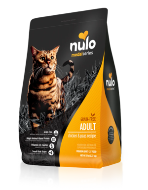 Nulo MedalSeries Adult Cat - Chicken & Peas Recipe