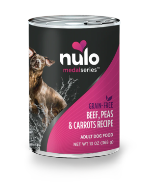 Nulo MedalSeries Beef, Peas & Carrots Recipe (Canned)
