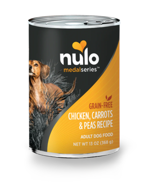 Nulo MedalSeries Chicken, Carrots & Peas Recipe (Canned)