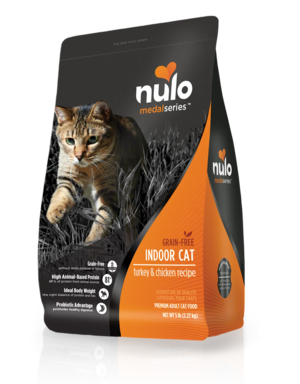 Nulo MedalSeries Indoor Cat - Turkey & Chicken Recipe