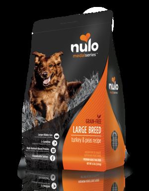 Nulo MedalSeries Large Breed Turkey & Peas Recipe