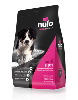 Nulo MedalSeries Puppy Chicken & Sweet Potato Recipe
