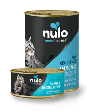 Nulo MedalSeries Salmon & Mackerel Recipe (Canned Cat Food) | Review & Rating | PawDiet