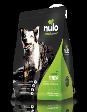 Nulo MedalSeries Senior Chicken & Lentils Recipe