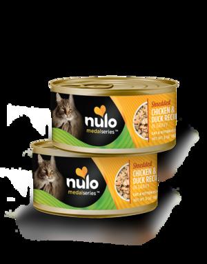 Nulo MedalSeries Shredded Chicken & Duck Recipe In Gravy