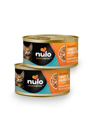 Nulo MedalSeries Shredded Turkey & Halibut Recipe In Gravy
