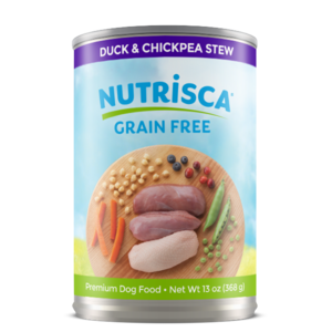 Nutrisca Grain Free Canned Dog Food Duck & Chickpea Stew