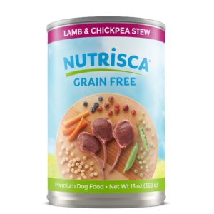 Nutrisca Grain Free Canned Dog Food Lamb & Chickpea Stew ...