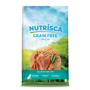 Nutrisca Grain Free Dry Cat Food Salmon Recipe