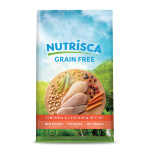 Nutrisca Grain Free Dry Dog Food Chicken & Chickpea Recipe