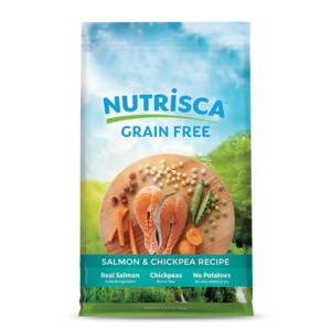 Nutrisca Grain Free Dry Dog Food Salmon & Chickpea Recipe