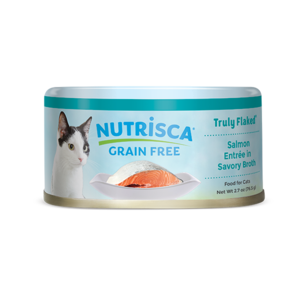 Nutrisca Grain Free Truly Flaked Salmon Entree In Savory Broth