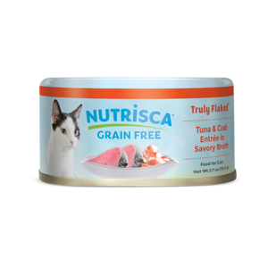 Nutrisca Grain Free Truly Flaked Tuna & Crab Entree In Savory Broth