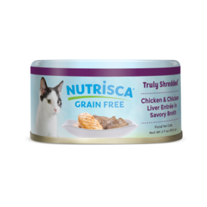 Nutrisca Grain Free Truly Shredded Chicken & Chicken Liver Entree In Savory Broth