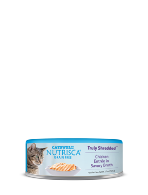 Nutrisca Grain Free Truly Shredded Chicken Entree In Savory Broth