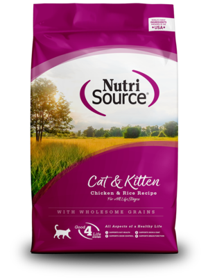 NutriSource Dry Cat Food Cat & Kitten - Chicken & Rice Formula