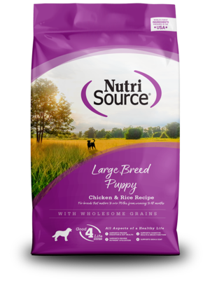 NutriSource Dry Dog Food Large Breed Puppy