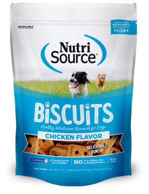 NutriSource Grain Free Biscuits Chicken