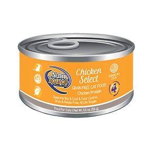 NutriSource Grain Free Cat Food Chicken Select
