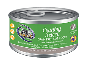 NutriSource Grain Free Cat Food Country Select