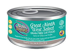 NutriSource Grain Free Cat Food Great North West Select