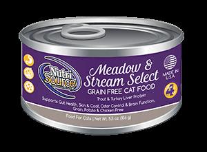 NutriSource Grain Free Cat Food Meadow & Stream Select