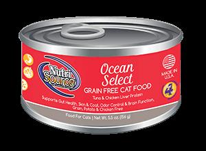 NutriSource Grain Free Cat Food Ocean Select