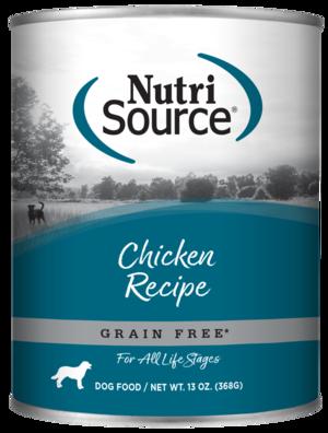 NutriSource Grain Free Dog Food Chicken Formula - Chicken & Chicken Liver Protein