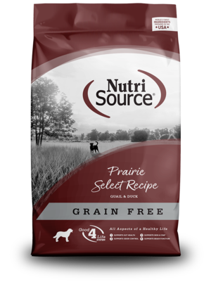 NutriSource Grain Free Dog Food Prairie Select