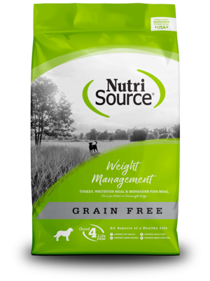 NutriSource Grain Free Dog Food Weight Management