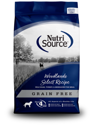 NutriSource Grain Free Dog Food Woodlands Select