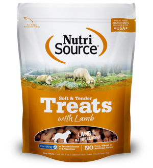NutriSource Soft & Tender Lamb Treats