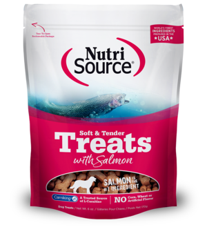 NutriSource Soft & Tender Salmon Treats