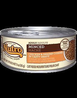 Nutro Adult Minced Chicken & Shrimp Cuisine In Tasty Gravy