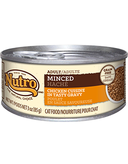 Nutro Adult Minced Chicken Cuisine In Tasty Gravy