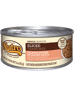 Nutro Adult Sliced Salmon Entree In Savory Sauce