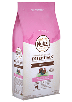Nutro Wholesome Essentials Farm-Raised Turkey & Brown Rice Recipe For Adult Cats