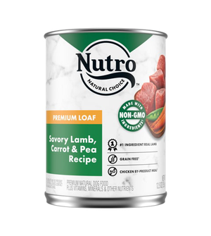 Nutro Kitchen Classics Premium Loaf Grass Fed Lamb & Brown Rice Dinner For Adult Dogs